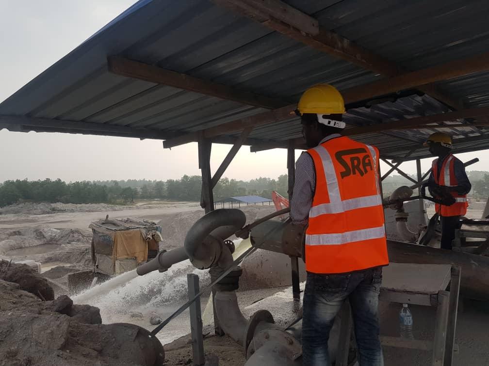 Sand Mining Operation at Bestari Jaya <span> - (On Going)</span>