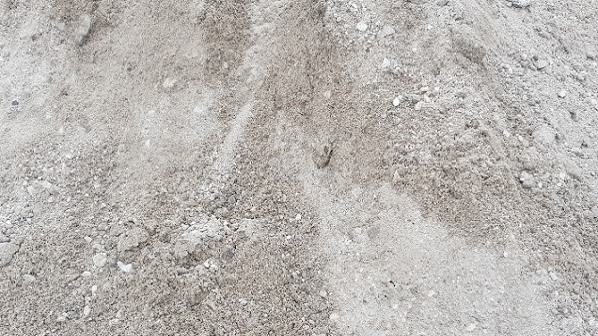 Unwashed Mining Sand